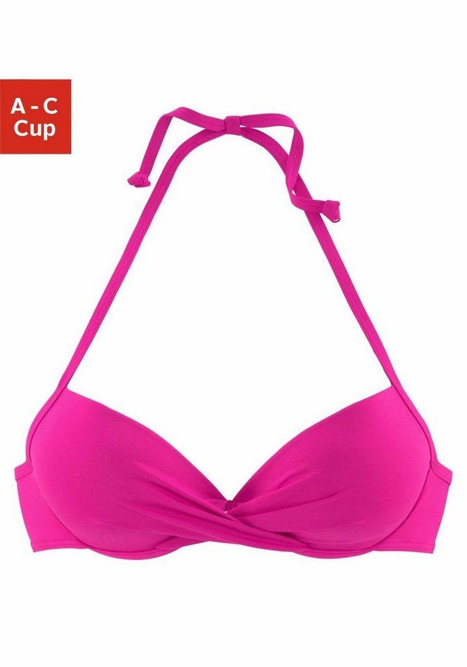 08f711611ef053 s.Oliver RED LABEL Beachwear Push-Up-Bikini-Top »Spain«, in ...