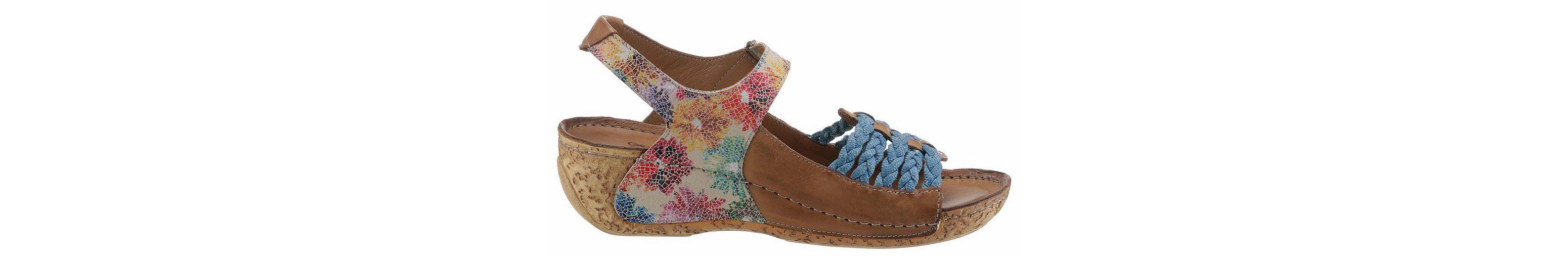 Gemini Sandalette, mit Blumendruck