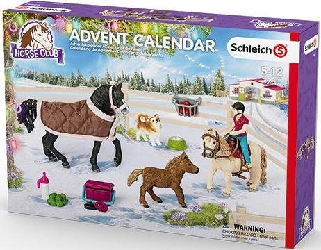 Schleich® Adventskalender (97447), »Pferde 2017«