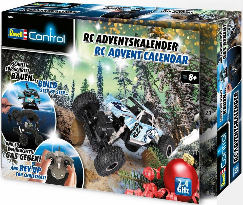 revell adventskalender revell control xs crawler online kaufen otto. Black Bedroom Furniture Sets. Home Design Ideas
