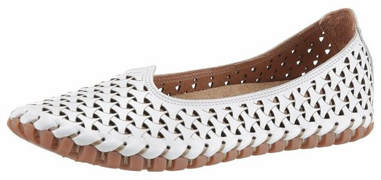 Gemini Slipper, mit Perforation