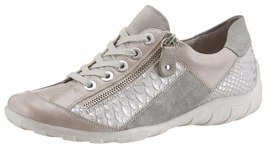 Remonte Sneaker, Ornamental Seam With Great