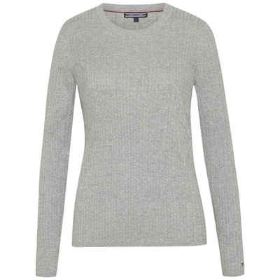 Tommy Hilfiger Pullover »ERCA MINI CABLE STP SWTR« c019cc7273