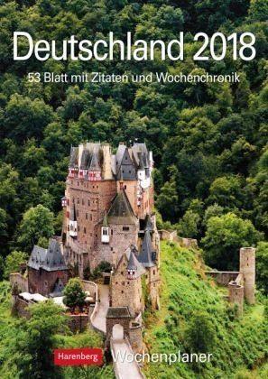 Kalender »Deutschland 2018. Wochenplaner«