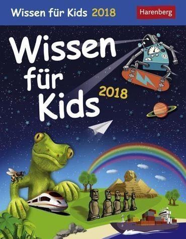 Kalender »Wissen für Kids 2018«