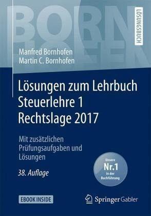 Broschiertes Buch »Lösungen zum Lehrbuch Steuerlehre 1 Rechtslage...«