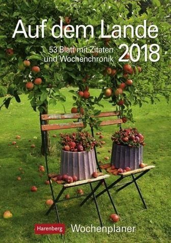 Kalender »Auf dem Lande 2018 Wochenplaner«