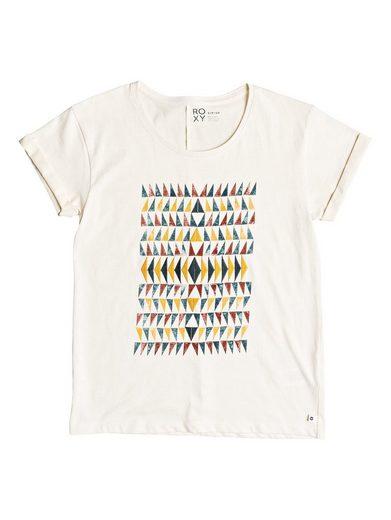 Roxy T-Shirt Boyfriend Wallpaper Geo