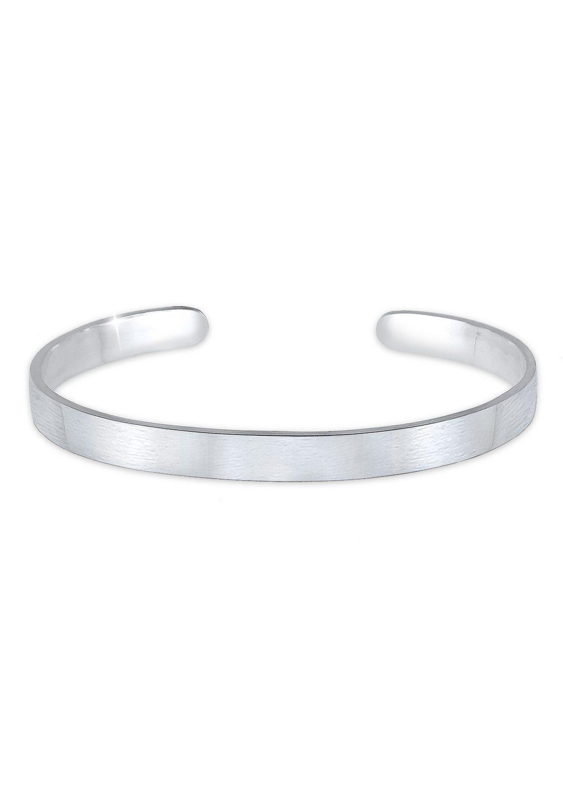 Paulo Fanello Armband »Basic Bangle matt 925 Sterling Silber«
