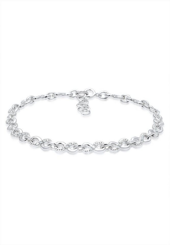 elli armband infinity swarovski kristalle 925 silber. Black Bedroom Furniture Sets. Home Design Ideas