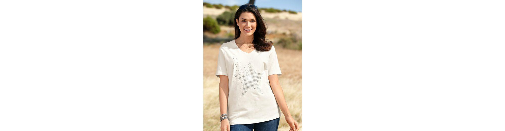 MIAMODA Shirt mit Sternmotiv aus Dekosteinen Rabatt Großer Rabatt Billig Verkauf Echten Günstig Kaufen Suche Rabatt-Codes Online-Shopping Offizielle Seite 8yvUeR1Iw