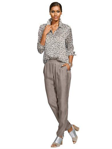Alba Moda Hose aus hochwertiger Cupro-Qualität