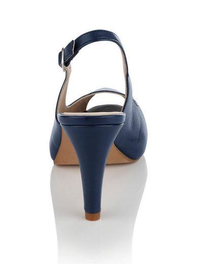 Alba Moda Sandalette in Sling-Form
