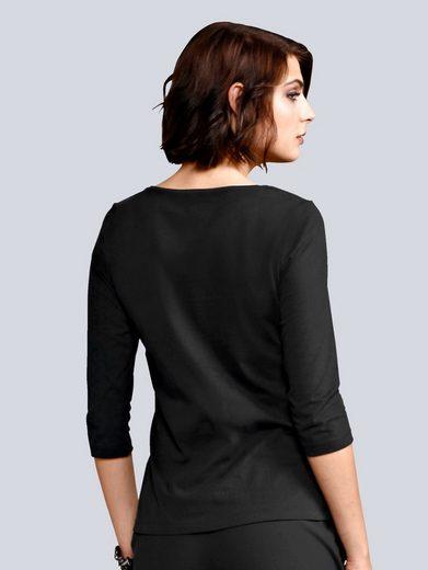 Alba Moda Shirt im Mitlitary Look