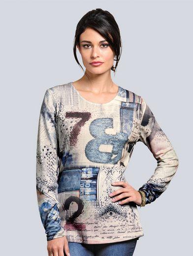 Alba Moda Shirt mit Fantasiedruck