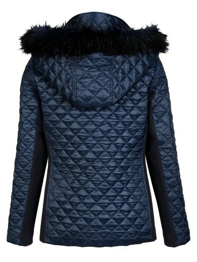 Alba Moda Quilting Jacket With Hood Abnehmarer