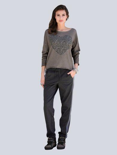 Alba Moda Hose im Joggpantsstyle