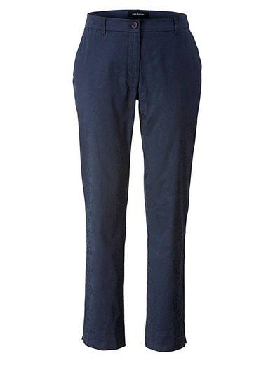 Sara Lindholm By Happy Size Jacquard-stretchhose