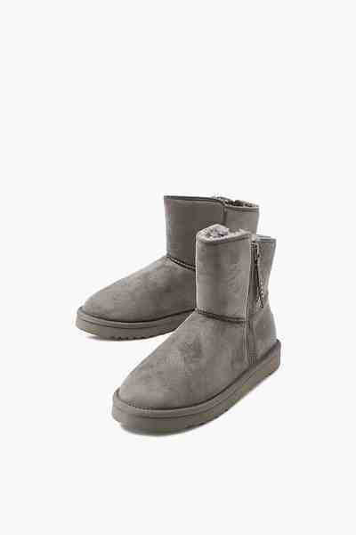 ESPRIT CASUAL Winter-Boots mit Kunstfell