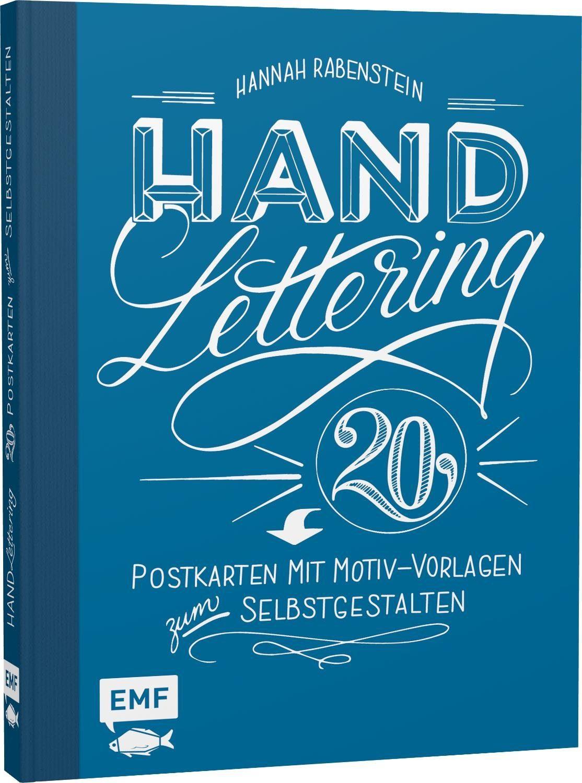 """EMF Buch """"Handlettering - 20 Postkarten mit Motiven"""""""