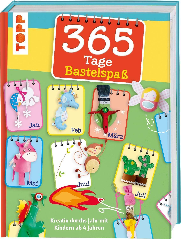 "Topp Buch ""365 Tage Bastelspaß"""