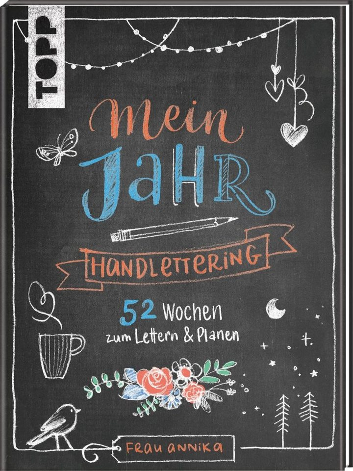 topp buch handlettering mein jahr kaufen otto. Black Bedroom Furniture Sets. Home Design Ideas
