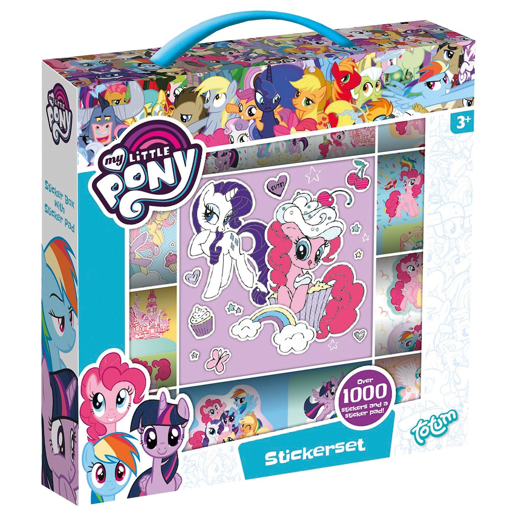 TOTUM My little Pony Stickerset