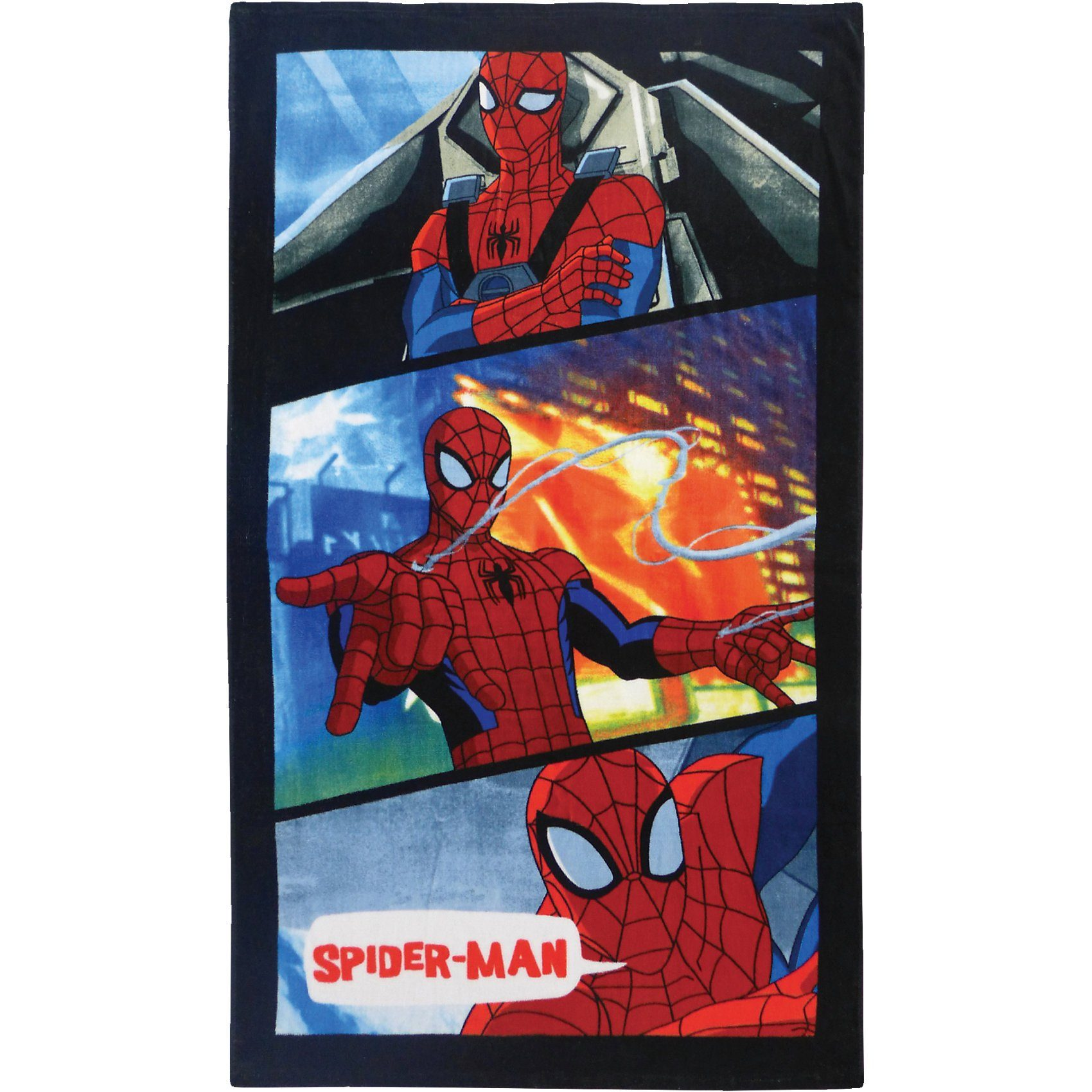 CTI Strand- / Badetuch Spider-Man Power, 70 x 120 cm