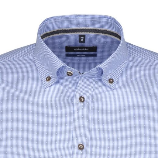 seidensticker Businesshemd Tailored, Button-Down-Kragen