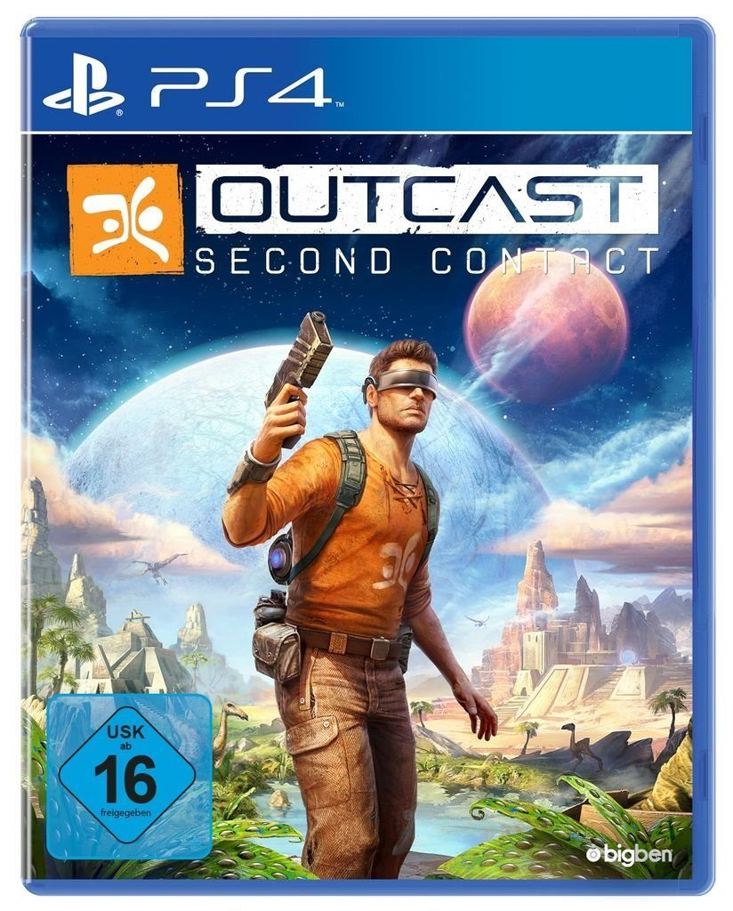 BigBen Playstation 4 - Spiel »Outcast - Second Contact«