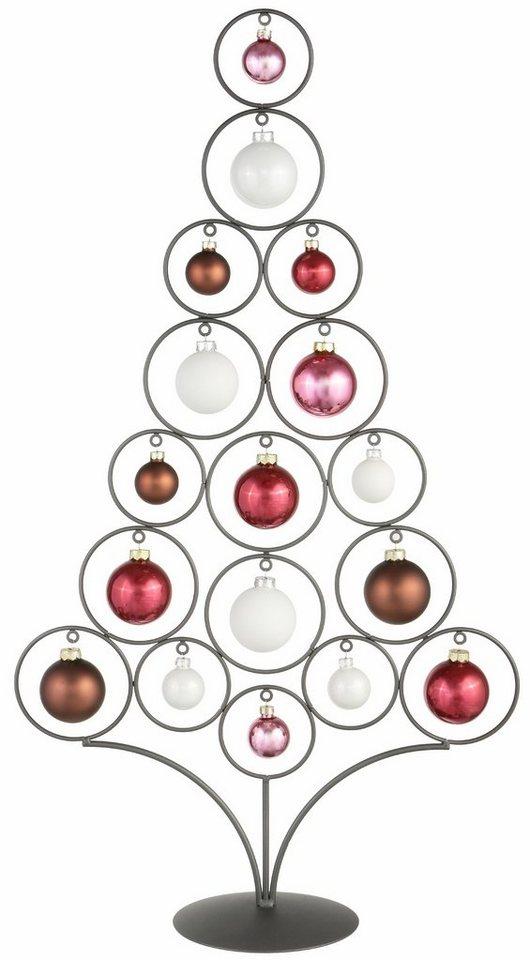 inge glas metallbaum inkl 17 tlg glaskugelsortiment online kaufen otto. Black Bedroom Furniture Sets. Home Design Ideas