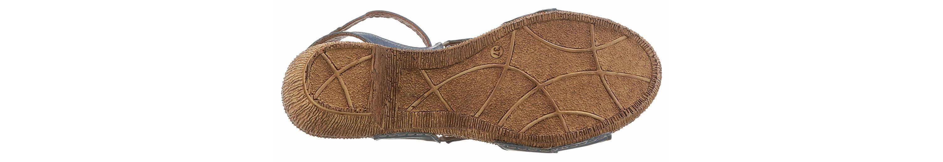 Gemini Sandalette, mit Laufsohle in Holz-Optik
