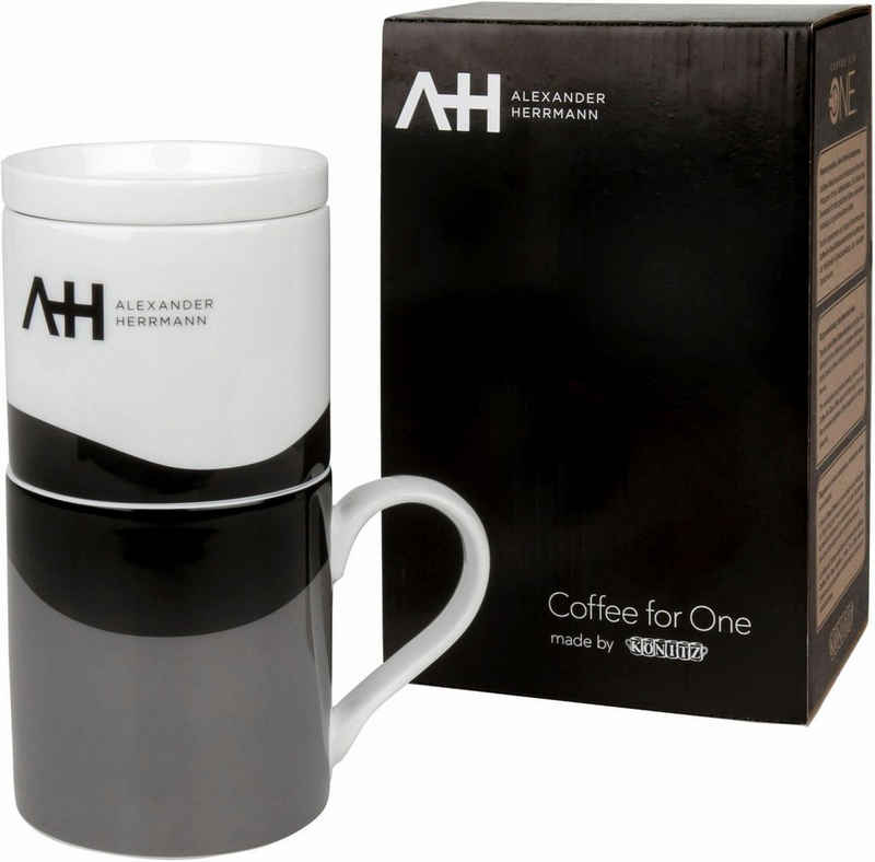 Alexander Herrmann Becher »Coffee for one«, Porzellan, 330 ml