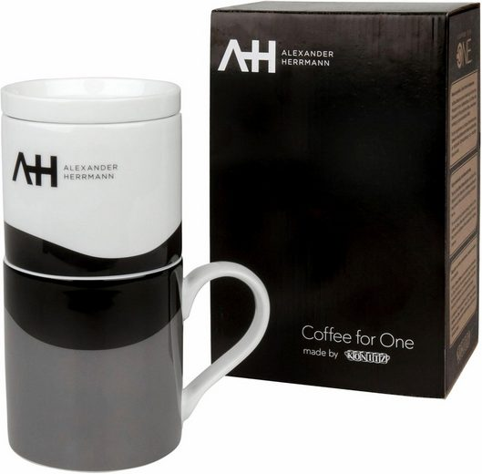 Alexander Herrmann Becher »Coffee for one« (1-tlg), 330 ml