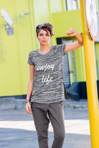 Aniston Longshirt, mit Rundhals-Ausschnitt