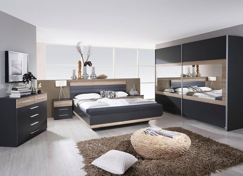 Rauch PACK´S Schlafzimmer-Set »Tarragona«, 4-teilig, Bett