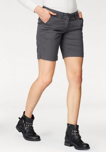 AJC Shorts, mit gekrempeltem Saum - tolle Basic Form
