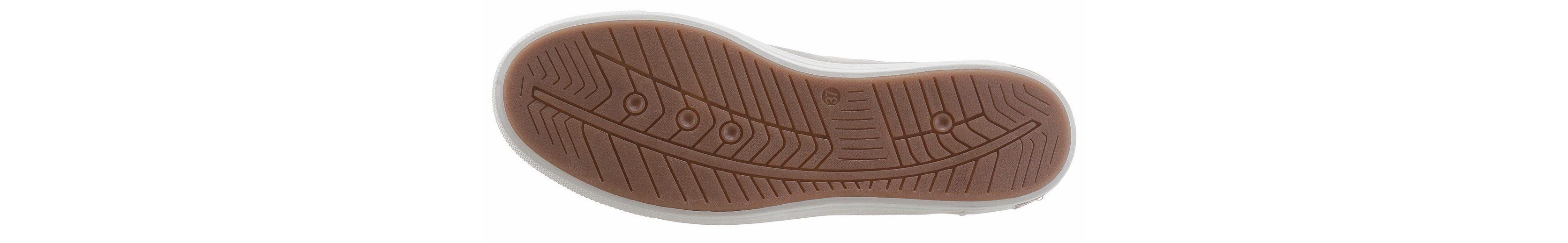 Tom Tailor Sneaker, mit Zierreißverschluss außen