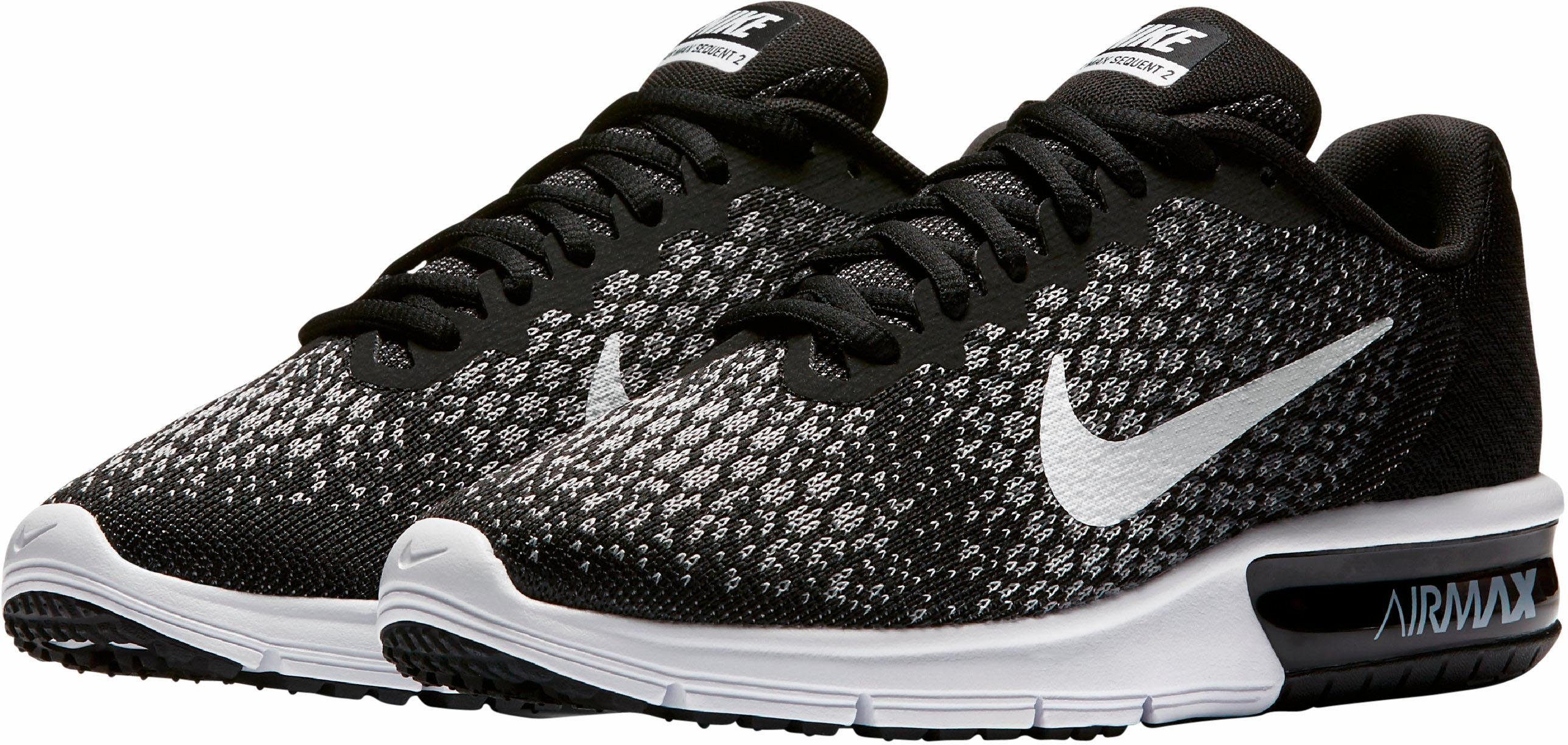 Nike Wmns Air Max Sequent 2 Laufschuh kaufen  schwarz-weiß