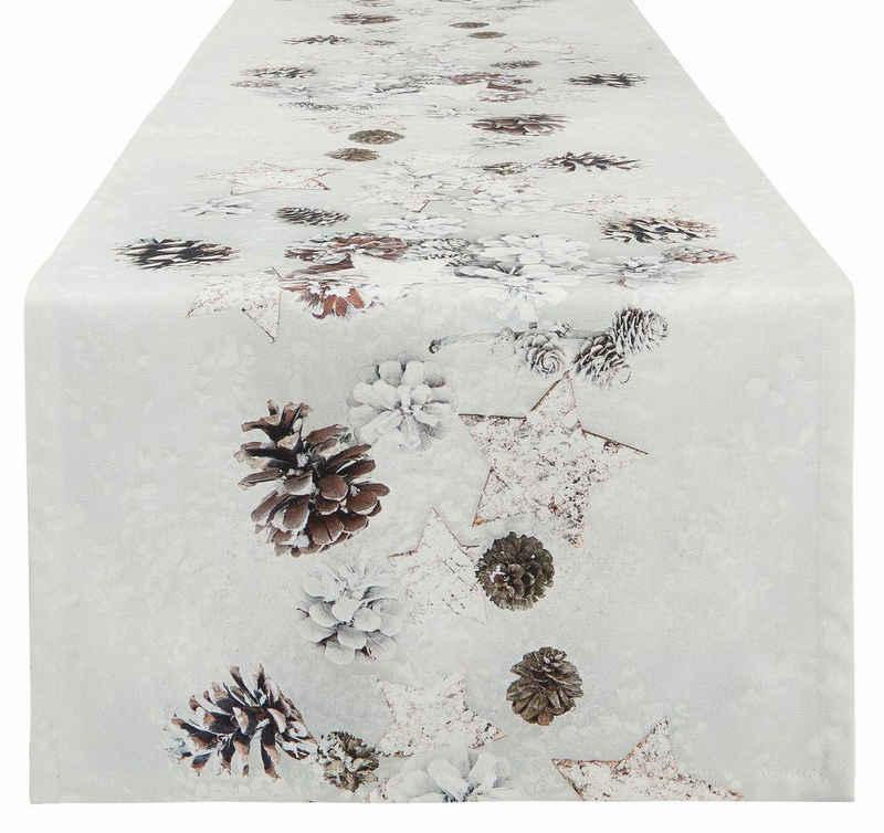 APELT Tischläufer »4692 WINTERWELT« (1-tlg), Digitaldruck