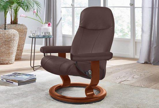 Stressless® Relaxsessel »Garda«, mit Classic Base, Größe M, Gestell Braun