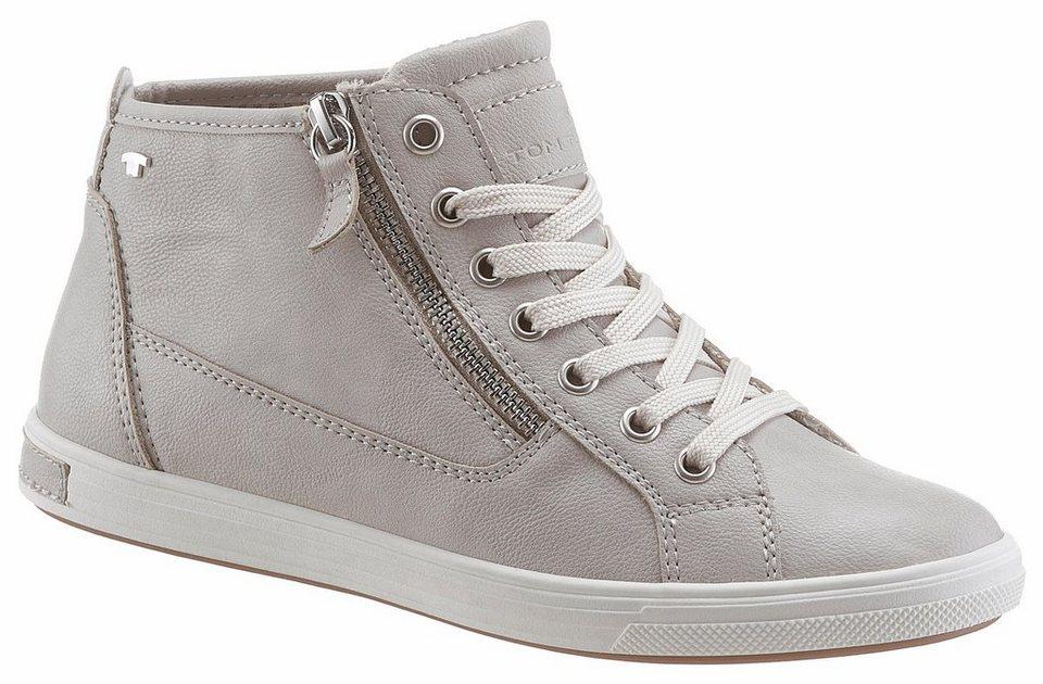 size 40 8e6a8 50e44 TOM TAILOR Sneaker mit Zierreißverschluss außen | OTTO