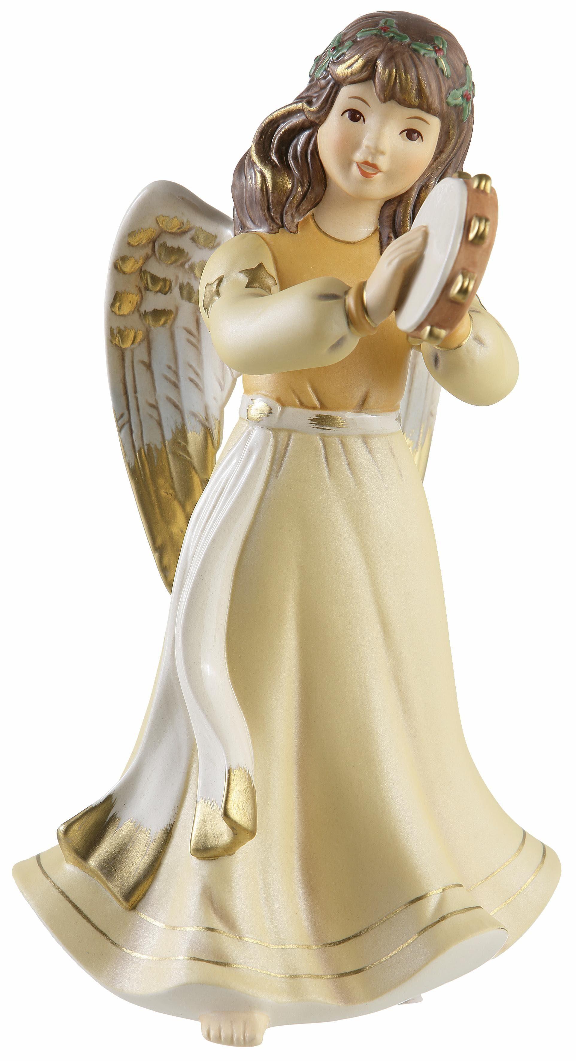 Goebel Sammlerfigur, Jahresedition 2017, »Engel mit Tamburin«