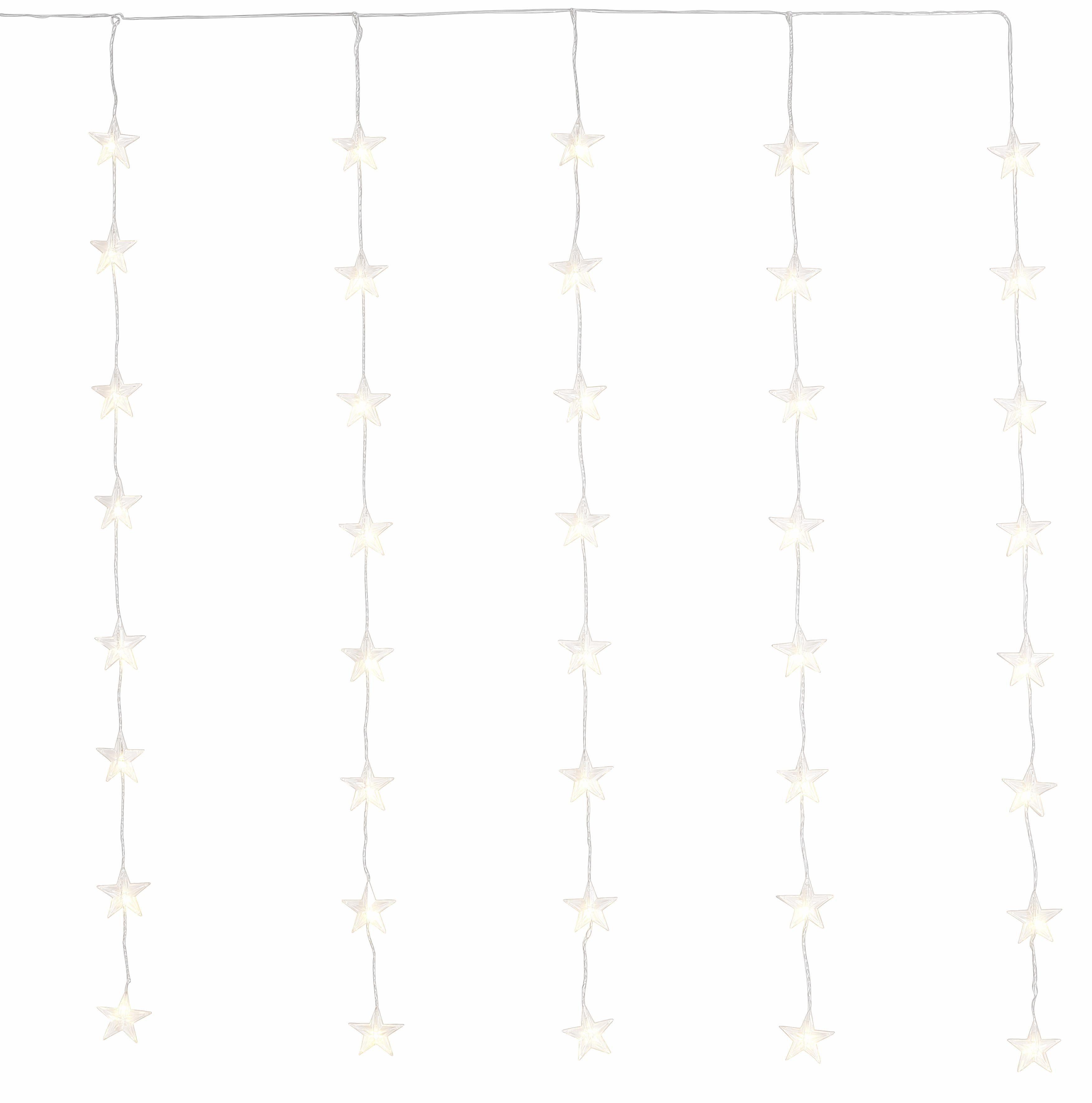 LED Sternen-Vorhang