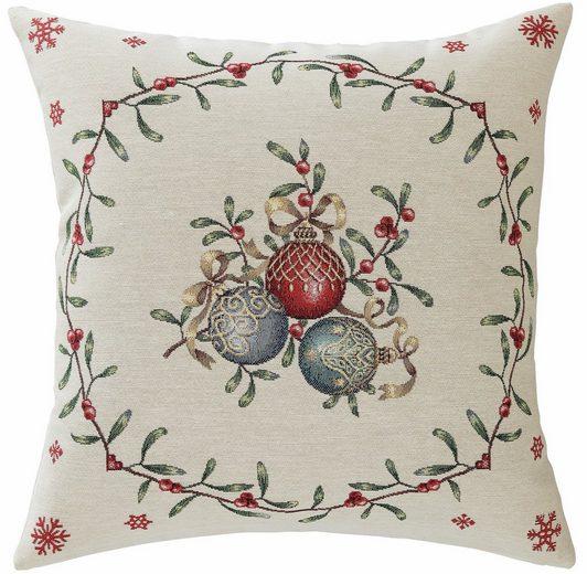 Kissenhülle »Weihnachtskugel«, HOSSNER - HOMECOLLECTION