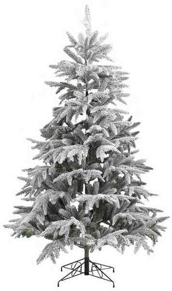 Künstlicher Weihnachtsbaum mit Schnee, in 5 Größen