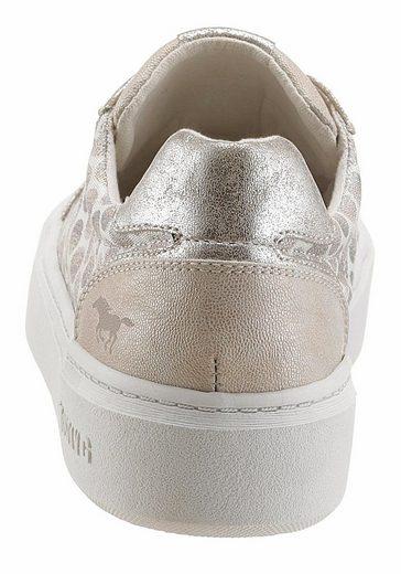 Mustang Shoes Sneaker, mit Metallic-Effekten
