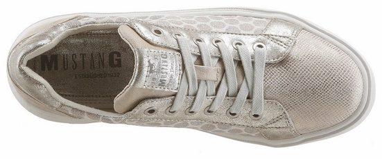 Sneaker Mit Shoes effekten Metallic Mustang qSURn