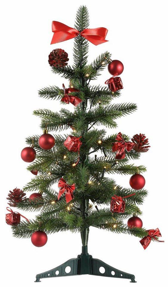 Fertiger Künstlicher Weihnachtsbaum.Star Trading Künstlicher Weihnachtsbaum Mit Dekoration Online Kaufen Otto