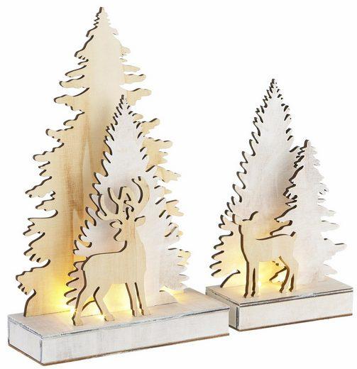 CHRISTMAS GOODS by Inge LED Baum, batteriebetrieben
